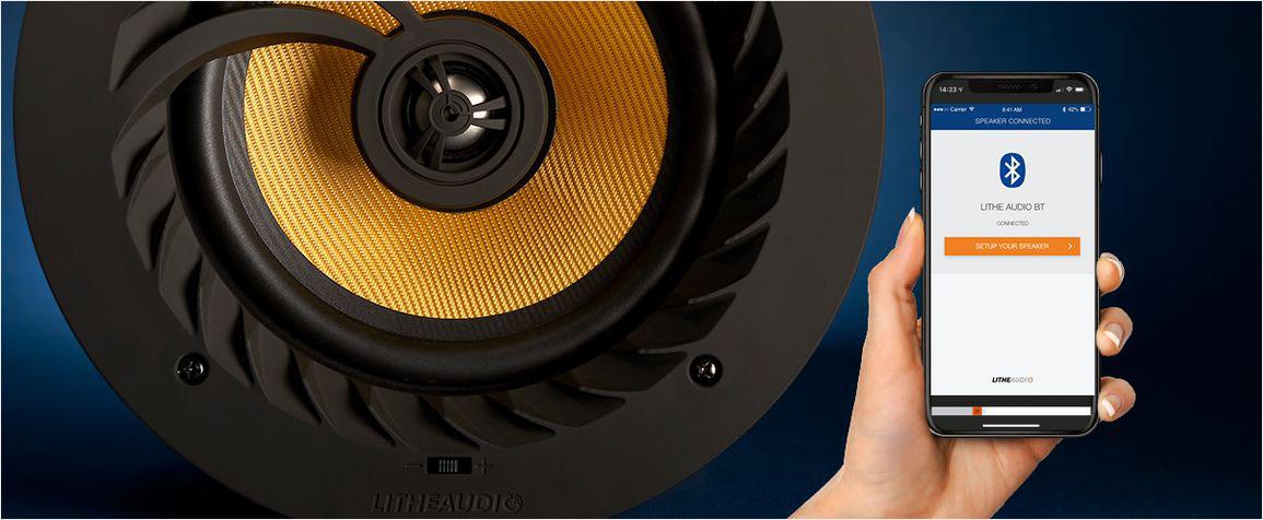 Aplikacja do głośników firmy Lithe Audio BT