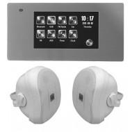 P2 RADIO POD ZABUDOWĘ Z BLUETOOTH USB SD CARD LAN / STEREO  + GŁOŚNIKI NATYNKOWE 70W