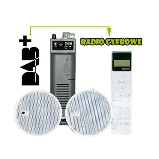 KBSOUND iSELECT 2,5 DAB+ RADIO POD ZABUDOWĘ 50305