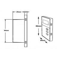 """P2 RADIO POD ZABUDOWĘ Z BLUETOOTH / USB/ SD CARD STEREO  + WODOODPORNE GŁOŚNIKI 5"""""""