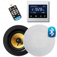 RETROTOUCH T1000 ZESTAW RADIOWY POD ZABUDOWĘ Z BLUETOOTH/USB-MP3/SD CARD/AUX BIAŁY