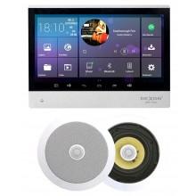 P2 RADIO POD ZABUDOWĘ Z BLUETOOTH / USB/ SD CARD STEREO  + 2x GŁOŚNIK 6,5