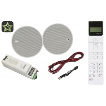 KBSOUND SELECT STAR 5 RADIO FM Z BLUETOOTH + PILOT 50805+52402