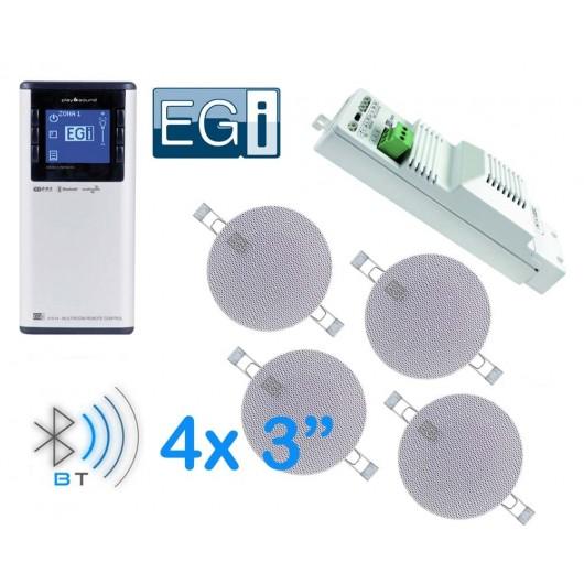 EGI RADIO POD ZABUDOWĘ Z BLUETOOTH XS 41018 + PILOT 41514