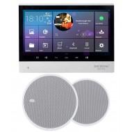 """P2 SYSTEM AUDIO TABLET POD ZABUDOWĘ Z WI-FI BLUETOOTH SD CARD HDMI / STEREO  + GŁOŚNIKI EIS 5"""""""