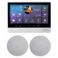 """P2 SYSTEM AUDIO TABLET POD ZABUDOWĘ Z WI-FI BLUETOOTH SD CARD HDMI / STEREO  + GŁOŚNIKI 8"""" 120W"""