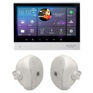 P2 SYSTEM AUDIO TABLET POD ZABUDOWĘ Z WI-FI BLUETOOTH SD CARD HDMI / STEREO  + GŁOŚNIKI NATYNKOWE 70w