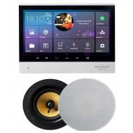 "P2 SYSTEM AUDIO TABLET POD ZABUDOWĘ Z WI-FI BLUETOOTH SD CARD HDMI / STEREO  + GŁOŚNIKI LA 6,5"""