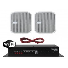 FONESTAR ZESTAW GŁOŚNIKÓW NATYNKOWYCH ELIPSE Z WIFI /  USB 2X 20W
