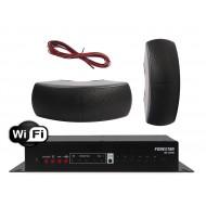 FONESTAR WZMACNIACZ STEREO Z WIFI / USB 40W Z GŁOŚNIKAMI NATYNKOWYMI  40W