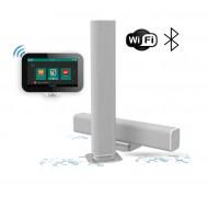 AQUASOUND RADIO INTERNETOWE Z WIFI / BLUETOOTH / SD CARD N-JOY D-SIGN SET