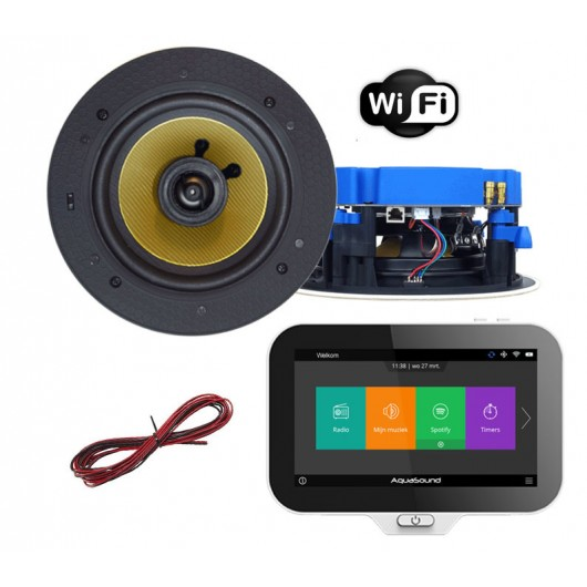 AQUASOUND RADIO INTERNETOWE Z WIFI / BLUETOOTH / SD CARD N-JOY MOVE SET