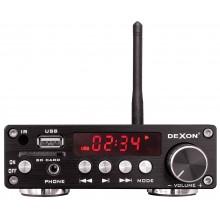 DEXON WZMACNIACZ NATYNKOWY STEREO Z BLUETOOTH / USB/ SD CARD STEREO 2X 30W