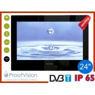 "ProofVision WODOODPORNY TELEWIZOR ŁAZIENKOWY 24"" SMART TV"