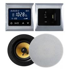 RETROTOUCH T2000 ZESTAW RADIOWY POD ZABUDOWĘ Z BLUETOOTH/USB/AUX CHROM
