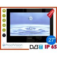 "ProofVision WODOODPORNY TELEWIZOR ŁAZIENKOWY 27"" SMART TV"