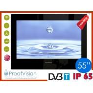 "ProofVision WODOODPORNY TELEWIZOR ŁAZIENKOWY 55"" DVB-T/USB/HDMI"